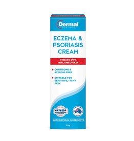 Dermal Dermal Eczema & Psoriasis Cream 50g