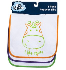 Big Softies Big Softies Bib 3 Pack Popover
