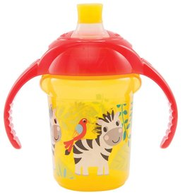 Munchkins Munchkin Click Lock 7oz Bite Proof Decorated Trainer Cup -Assorted