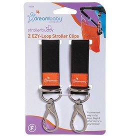 Dreambaby Dreambaby Strollerbuddy Ezy-Loop Stroller Hooks 2 Pack