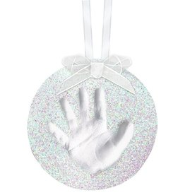 Pearhead Pearhead Babyprints Glitter Ornament