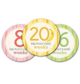 Pearhead Pearhead Pregnancy Belly Stickers