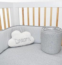Living Textiles Living Textiles 2-piece Jersey Bumper Set