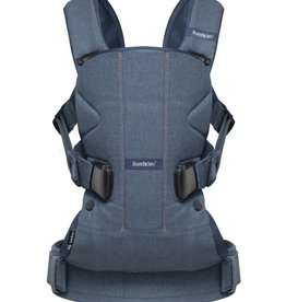 BabyBjorn BabyBjorn One, Classic Denim Midnight Blue, Cotton Mix