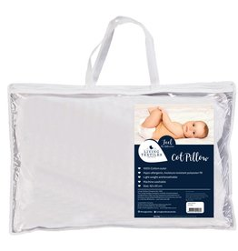 Living Textiles Living Textiles Pillow - Cot White