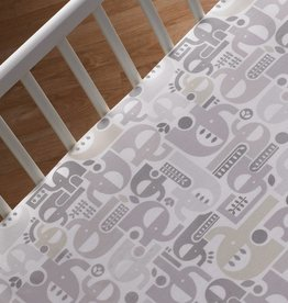 Lolli Living Lolli Living Fitted sheet - Elephant