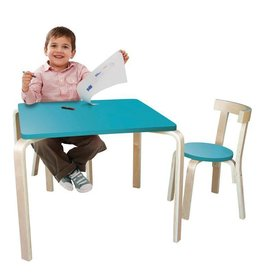 Jolly Kidz Jolly Kidz Scandi Table and Chairs 60cm Sqr