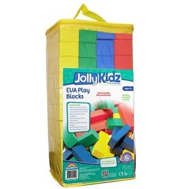 Jolly Kidz Jolly Kidz EVA Play Blocks