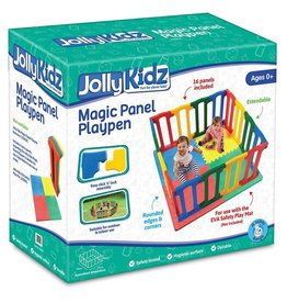 Jolly Kidz Jolly Kidz Magic Panel Playpen