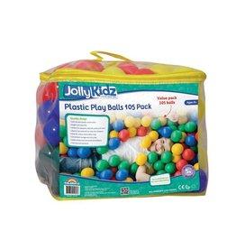 Jolly Kidz Jolly Kidz Plastic Play Balls 105 Pack