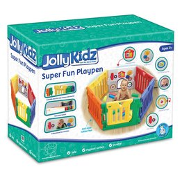 Jolly Kidz Jolly Kidz Super Fun Playpen