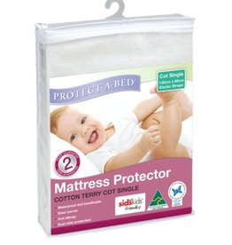 Protect-A-Bed Protect-A-Bed Mattress Protector Cotton Terry Cot