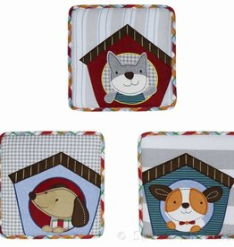 Little Haven Little Haven Puppy Pals Soft Wall Hangings (3 Pc)