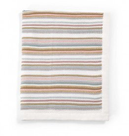 Mamas and Papas Mamas and Papas Knitted Blanket (70x90cm) - Pastel Stripe Pastel