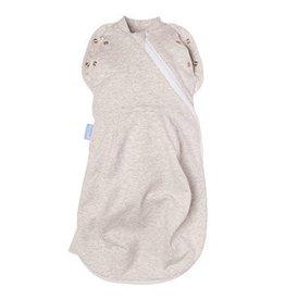 Gro Gro Newborn Plus Swaddle Grobag - Grey Marl - Light