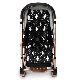 Outlook Outlook Cotton Pram Liner - Mono Cactus