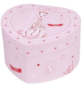Trousselier Trousselier Sophie la Girafe Paris Small Heart Music Box
