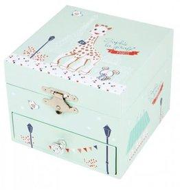 Trousselier Trousselier Sophie la Girafe Paris Cube Music Box