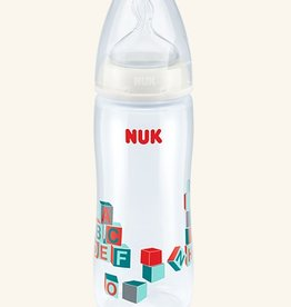 NUK Nuk First Choice Mix Col 360ml PP Bottle