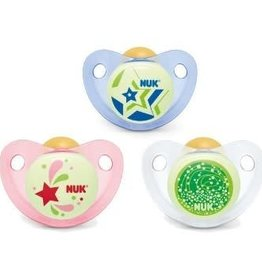NUK Nuk 2 Pack Silicone  Night & Day