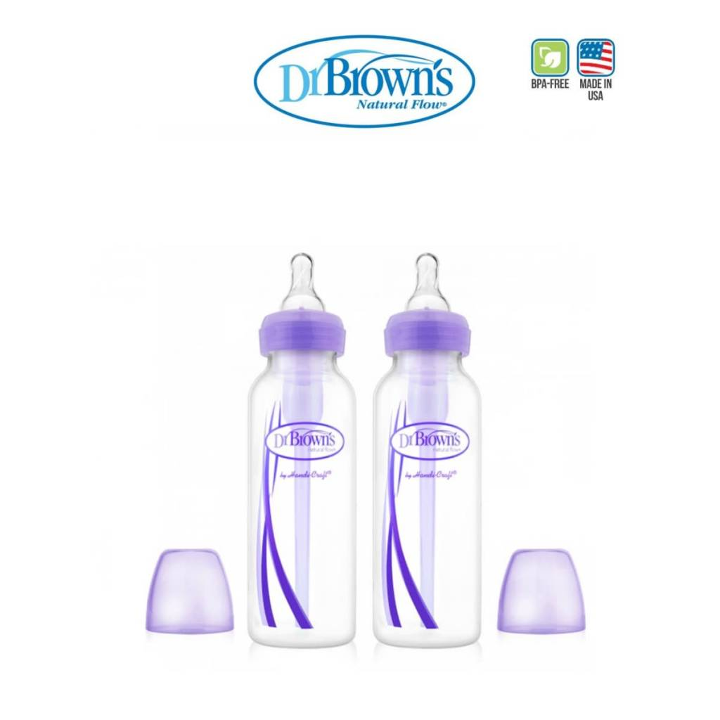 "70883e6b0d32 ... Dr Browns Dr Browns 250ml BOTTLE with LEVEL 1 TEAT - Narrow Neck  ""OPTIONS"""