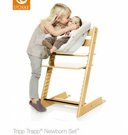Stokke Stokke Tripp Trapp® Newborn Set Seat with textiles in Cream