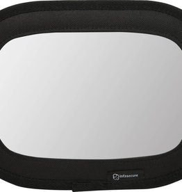 Infa Secure InfaSecure Deluxe Fabric Mirror Black