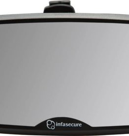 Infa Secure InfaSecure Mini Windscreen Mirror Black