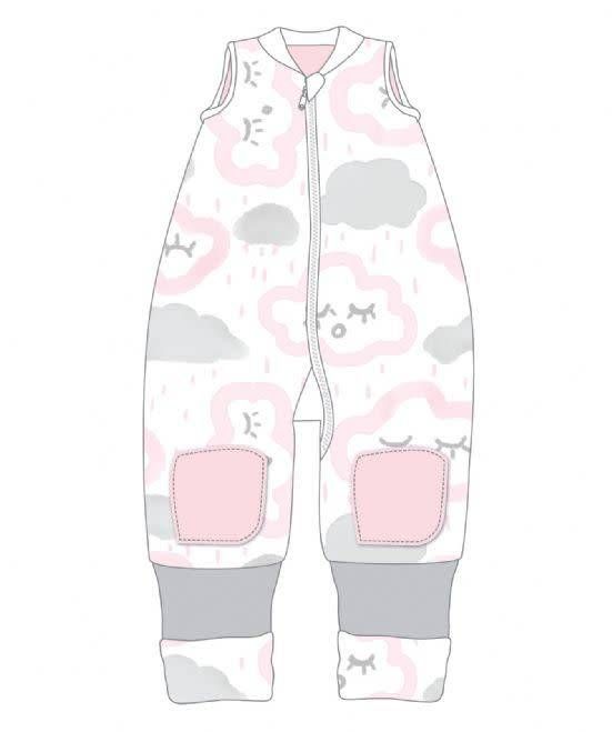 Baby Studio Baby Studio Winter Warmies - No Arms 2.5 Tog Clouds - Pink