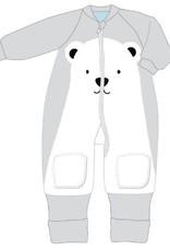 Baby Studio Baby Studio Winter Warmies Fleece with Arms 6-12M - 3.5 Tog Polar Bear