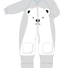 Baby Studio Baby Studio Winter Warmies Fleece with Arms - 3.5 Tog Polar Bear