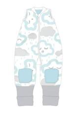 Baby Studio Baby Studio Coolies - 1.0 Tog  Clouds - Peppermint