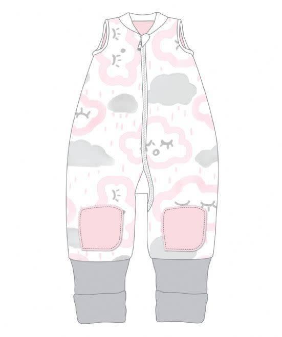 Baby Studio Baby Studio Coolies - 1.0 Tog Clouds - Pink