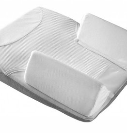 Baby Studio Baby Studio Adjustable Elevated Wedge Sleep Positioner One Size White