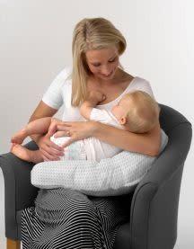 Baby Studio Baby Studio Breast Feeding Pillow One Size Chevron/Grey