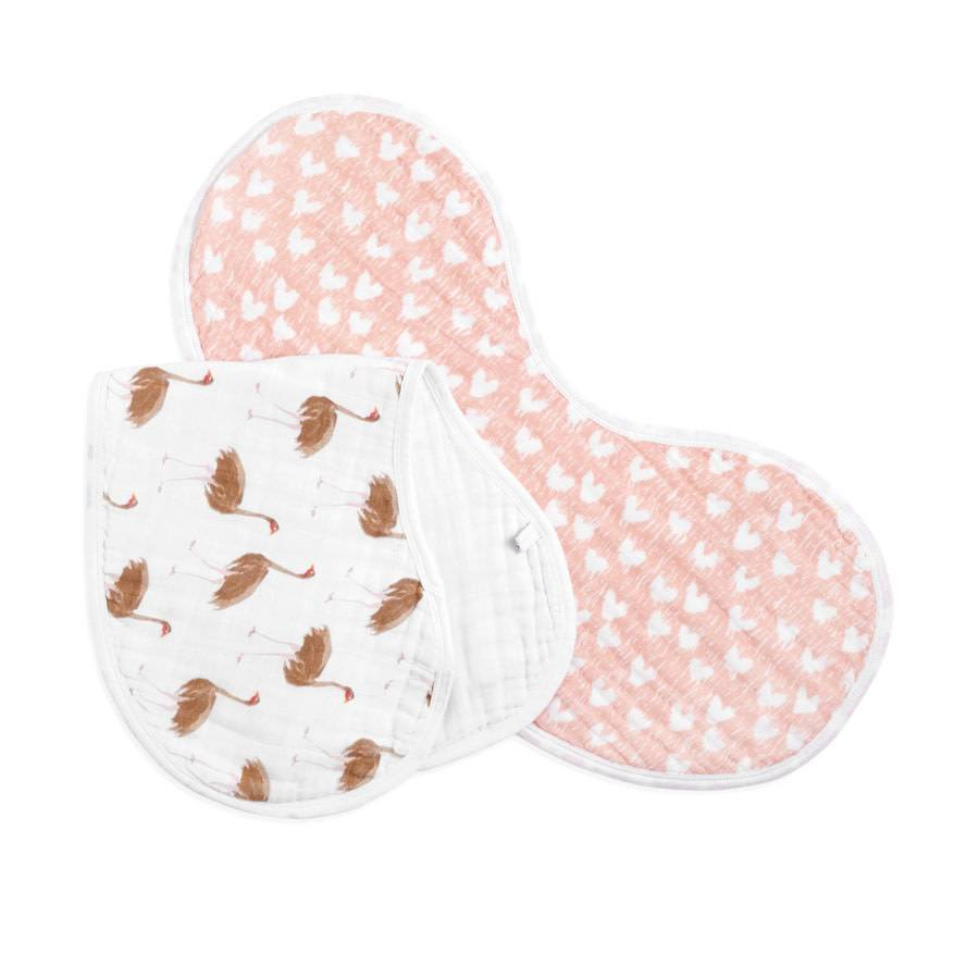 Aden + Anais Aden + Anais White Label Classic Burpy Bibs 2-Pack