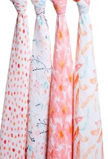 Aden + Anais Aden + Anais 4-Pack Swaddle - Classic