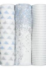 Aden + Anais Aden + Anais Metallic Bamboo Birch 3 Pack Swaddles
