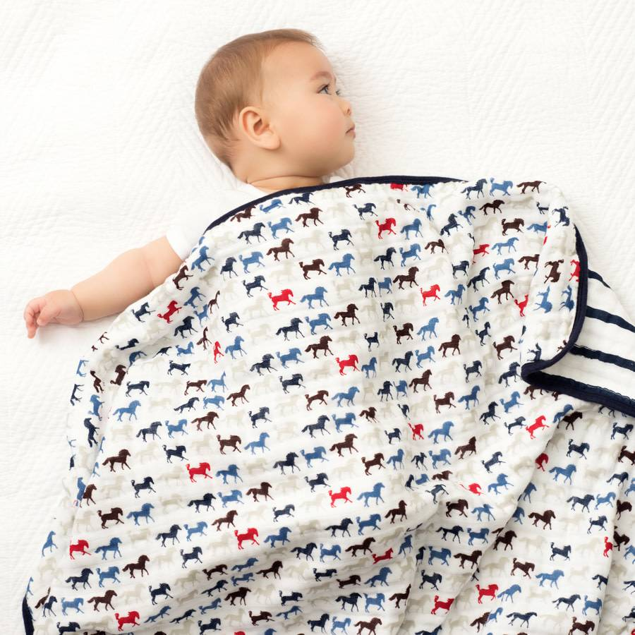 Aden + Anais Aden + Anais Wild Horses classic Dream Blanket Single