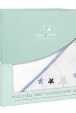 Aden + Anais Aden + Anais Muslin Backed Hooded Towel Set