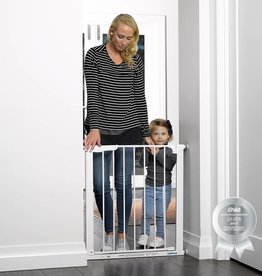 Childcare Childcare Assisted Auto Close Gate White