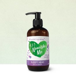 123 Nourish Me 123 Nourish Me Sleepy Head Bath Wash