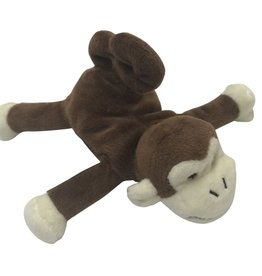 BibiPals BibiPals Plus Miki The Cheecky Monkey Brown/Beige