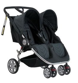 Steelcraft Steelcraft Agile Twin Travel System Black Linen