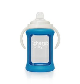 Cherub Baby Cherub Baby 240ml Single Glass Sippy Cup