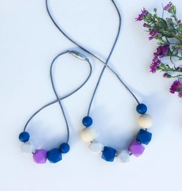 OneChewThree OneChewThree Mumma + Mini Me Necklace Set
