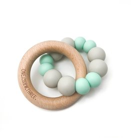 OneChewThree OneChewThree Duo Silicone and Beech Wood Teether