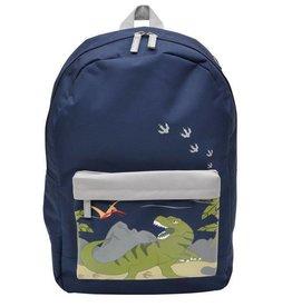 Bobble Art Bobble Art Large Fabric Backpack Dinosaur