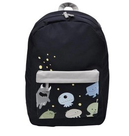Bobble Art Bobble Art Large Fabric Backpack Monster