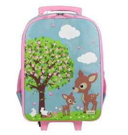 Bobble Art Bobble Art Wheely Bag Woodland
